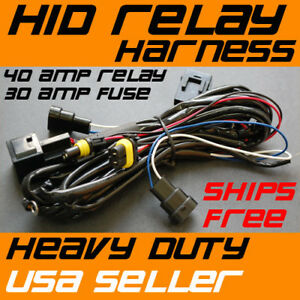Xenon-HID-Conversion-Relay-Wiring-Harness-H11-9005-9006
