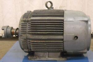 Westinghouse Life Line T Ac Motor Model Tbfc 3ph 50hp Ebay