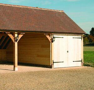 Solid-Oak-Garage-Door-Frame-for-7-039-x-9-039-Doors