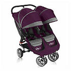 Baby Jogger City Mini Purple/Gray Standard Double Seat Stroller