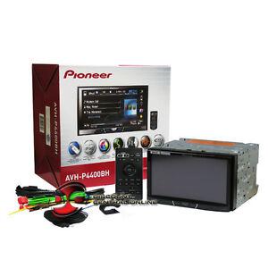 PIONEER-AVH-P4400BH-6-95-034-DOUBLE-DIN-CAR-DVD-CD-USB-RECEIVER-W-BLUETOOTH