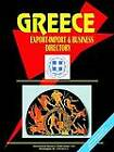 Greece Export-Import Trade and Business Directory by International Business Publications, USA (Paperback / softback, 2005)