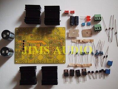 Low impedance 500mA class A shunt regulator kit !