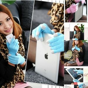 Unisex-Mens-Ladies-Winter-knit-Easy-Click-Touch-Screen-Magic-Gloves-Smart-Phone