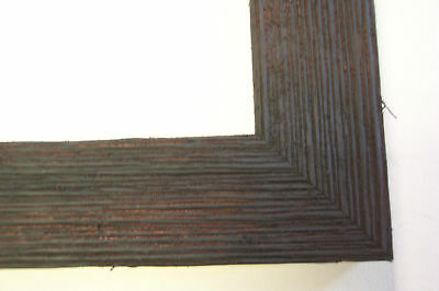 "1.5"" Wide Rough Black Barnwood Picture Frame-Panoramic"