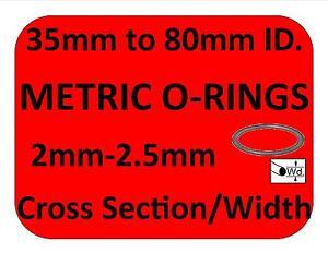 metric rubber o rings all sizes orings 2mm cs 2 4 ebay. Black Bedroom Furniture Sets. Home Design Ideas