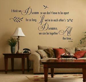 Love-Deams-Bedroom-Quote-Vinyl-Wall-Art-Sticker-Decal-Mural