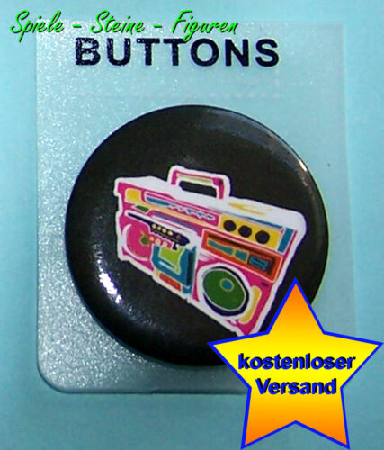 Button Abzeichen// Blech Pin verschiedene Anstecknadel 3cm Durchmesser