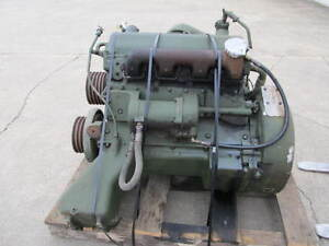 MILITARY-CUMMINS-V8-300-DIESEL-ENGINE-CORE-REMOVED-FRON-10-TON-TRUCK