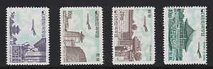 Korea-C27-C30-set-complete-mint-never-hinged-nice-color-cv-522-see-pic