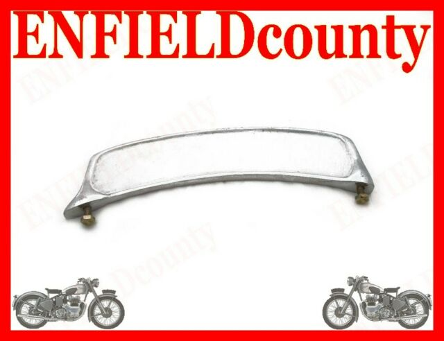 ROYAL ENFIELD FRONT MUDGUARD ALLOY SMALL NUMBER PLATE BSA AJS TRIUMPH @ECspares