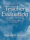 Teacher Evaluation: A Comprehensive Guide to New Directions and Practices by Kenneth D. Peterson (Paperback, 2000)