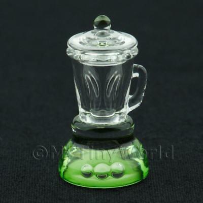 Green Base Glass Blender Dolls House Miniatures OGL81