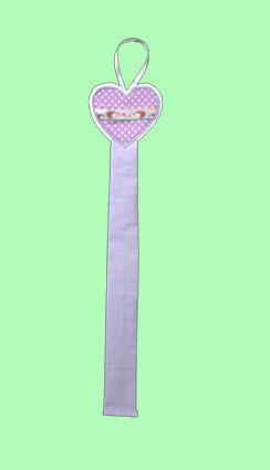 Haarspangenhalter Herz #U025# NEU Utensilo Hairclip flieder zum auswählen