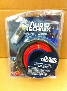 Audio-Technix-4ga-Gauge-GA-Flexible-OFC-Complete-Amp-Install-Kit