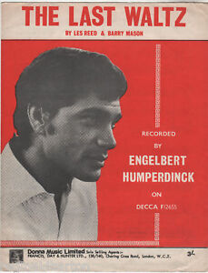 Engelbert-Humperdinck-The-Last-Waltz-Music-Sheet-1967