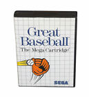 Great Baseball (Sega Master, 1987)
