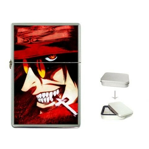 New Flip Top Lighter Hellsing alucard manga anime GIFT