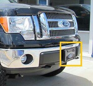 Oem 2009 2012 Ford F 150 Front License Plate Holder 9l3z