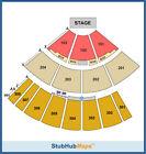 Phish Tickets 08/24/12 (Pelham)