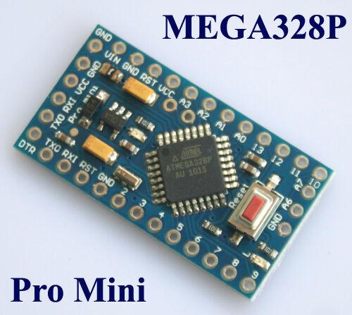 Pro Mini Enhancement (3.3V/5V adjustable)/16MHz MEGA328P (Arduino-compatible)