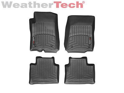 WeatherTech Floor Mats FloorLiner - Pontiac G8 - 2008-2009 - Black