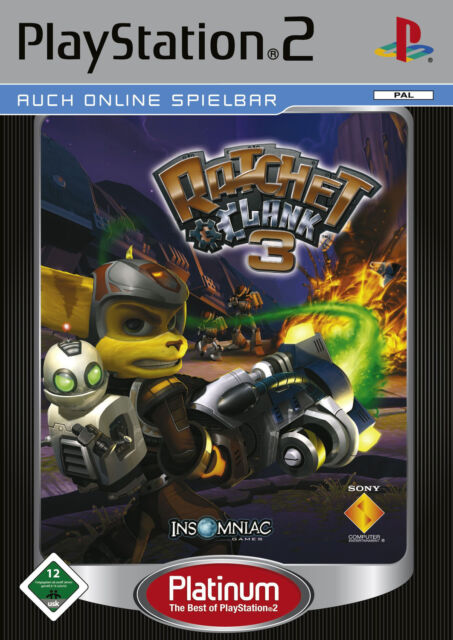 Ratchet & Clank 3, Sony PlayStation 2, Platinum