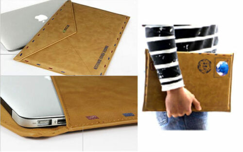 Vintage Airmail Envelope Pouch  PU Leather Protective Case for iPad Mini
