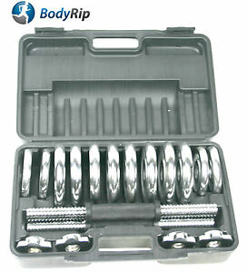 BODYRIP-10KG-CHROME-DUMBBELL-SET-WEIGHTS-WEIGHT-TRAINING-BODY-BUILDING-MUSCLE