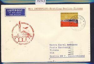 43951-DDR-DH-FF-Berlin-Tirana-8-4-60-Brief-ab-Liechtenstein