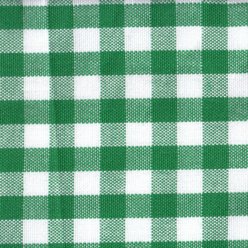 ACRYLIC CLOTHES DRESS SCHOOL UNIFORM FABRIC DANDY GINGHAM CHECK BLACK WHITE 44/""