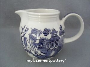 Churchill-Blue-Willow-large-jug