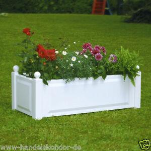 Pflanzkasten-rechteckig-Blumenkuebel-Blumenkasten-Pflanzgefaess-Blumentopf-KHW-NEU