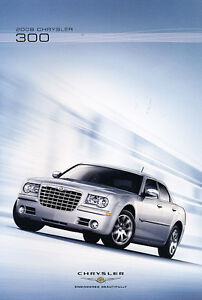 2008 chrysler 300 original sales brochure catalog book. Black Bedroom Furniture Sets. Home Design Ideas