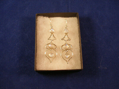 9.25 Silver Earrings With Stones
