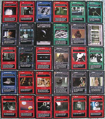 Star Wars CCG Premiere U1 Cards Part 2/2 (Dark Side, Uncommon)