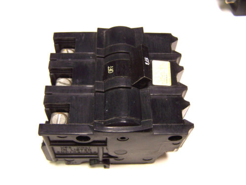 * FEDERAL PACIFIC 15A .. NB315 .. 3P ...CIRCUIT BREAKER TYPE NB .. I-21A