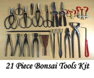 Brand New 21 Pieces Bonsai Tools Kit