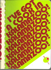 i ve got a cook in kalamazoo mi 1978 cook book junior
