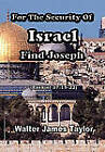 For the Security of Israel Find Joseph by Walter James Taylor (Hardback, 2011)