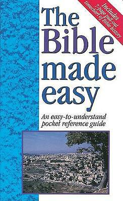The Bible Made Easy An Easy-To-Understand Pocket Reference Guide - 1997 publicat