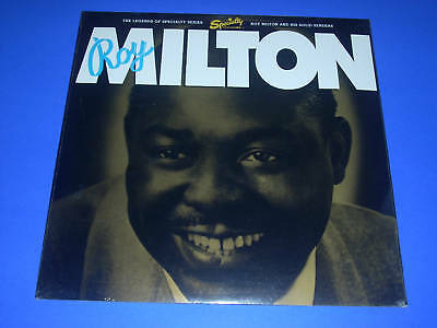 "Roy Milton ""Roy Milton And His Solid Senders"" Vinyl LP Factory Sealed"