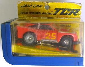 1977 Ideal TCR Cobra Jam Slot Less Car Red 3332-4
