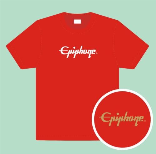 EPIPHONE premium cotton T shirt all sizes /& colours FREEPOST UK