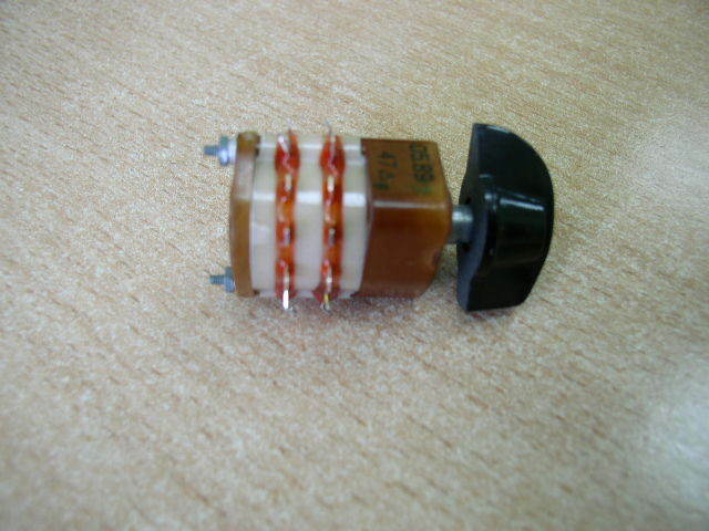 Hermetic Rotary Switch 2 pole 6 positions NOS Lot of 1