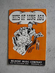 1937-Song-Book-Hits-of-Long-Ago-by-Belmont-Music