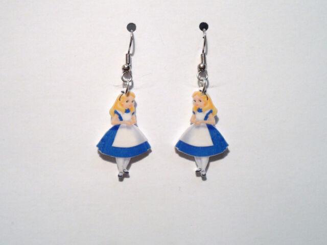 Alice in Wonderland Earrings Charms