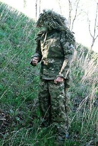Custom-Handmade-Multicam-Ghillie-Suit-Sniper-USMC-ARMY-SOF-Military-SWAT-CRYE
