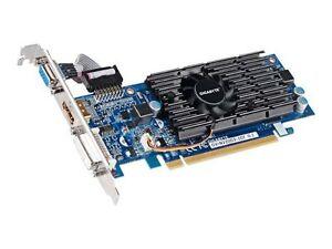 Gigabyte NVIDIA GeForce 210 (GV-N210D3-1GI) 1 GB DDR3 SDRAM PCI Express x16  Graphics adapter