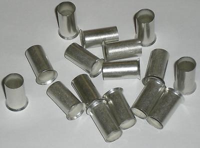 Aderendhülsen unisoliert 10,0mm² - 12mm - 100 Stück- Made in Germany - NEU